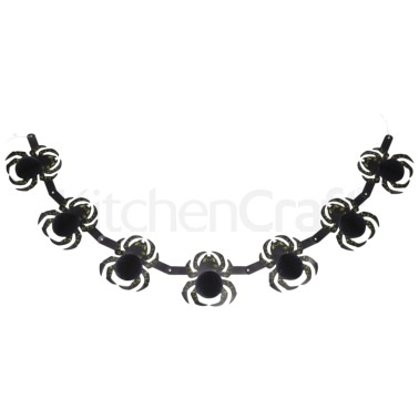 Spookily Does It Decorative Spider Banner