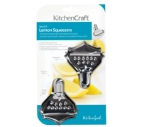 Kitchen Craft Set of two Lemon Squeezers