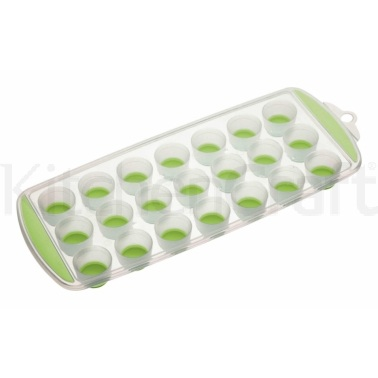 Colourworks Green Pop Out Flexible Ice Cube Tray