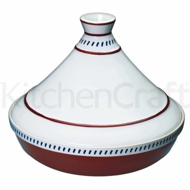 World of Flavours Mediterranean Ceramic Patterned Large Tagine