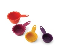 Kizmos Flora Set of 4 Measuring Cups