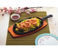 World of Flavours Oriental Iron Sizzle Platter