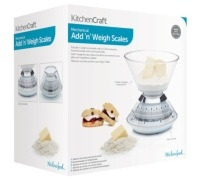 KitchenCraft Mechanical Add 'N' Weigh Scales 3Kg