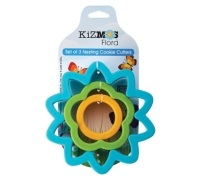 Kizmos Flora Set of 3 Cookie Cutters