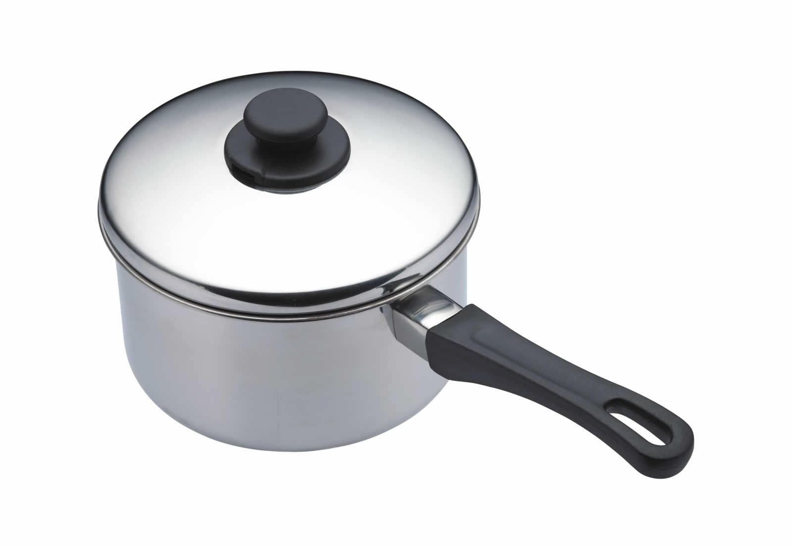 kitchencraft stainless steel 16cm extra deep saucepan On kitchen craft pots and pans
