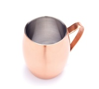 BarCraft Double Walled Moscow Mule Mug
