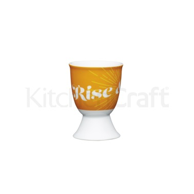 KitchenCraft Retro Rise Porcelain Egg Cup