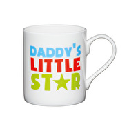 KitchenCraft Set of Four Bone China Little Star Mini Mugs