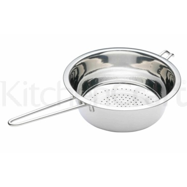 Kitchen Craft Stainless Steel 22cm Long Handled Colander