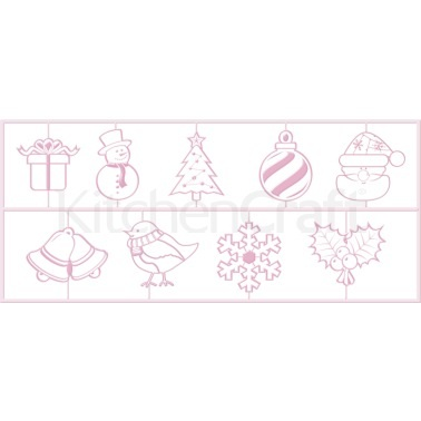 Sweetly Does It Christmas 3D Embossing Cutters