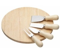 Kitchen Craft Wooden Cheese Serving Set