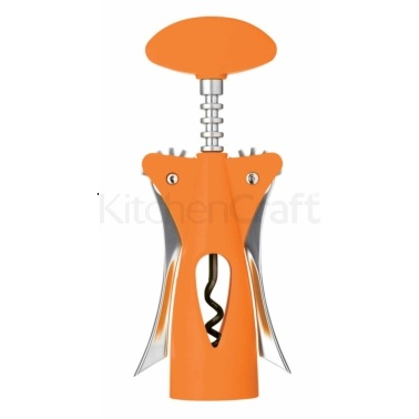 Colourworks Orange Wing Corkscrew with Soft Touch Body
