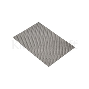 KitchenCraft Woven Metallic Grey Placemat