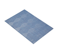 KitchenCraft Woven Blue Wave Placemat