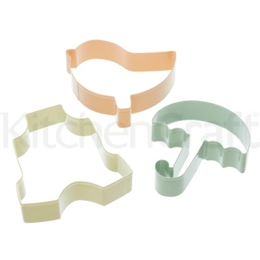 Sweetly Does It Baby Three Piece Newborn Cookie Cutter Set