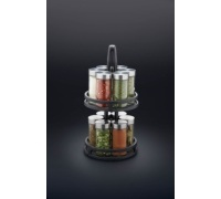 Master Class Cast Iron 12 Jar Spice Rack