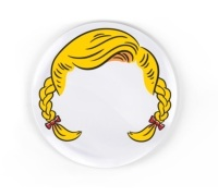 Fred Dinner Do's Girl's Hairstyle Plates