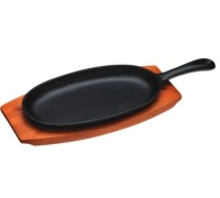 KitchenCraft World of Flavours Oriental Iron Sizzle Platter