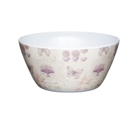Coolmovers Butterfly Lane Pack of 4 Melamine 15cm Bowls