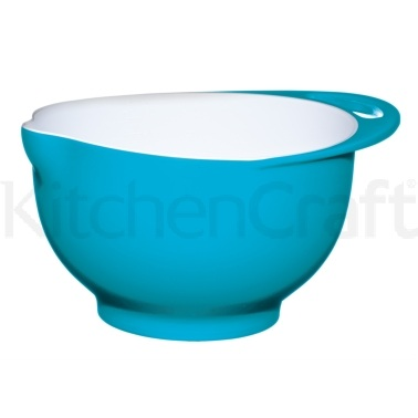 Colourworks Large Blue Melamine Two Tone Mixing Bowl