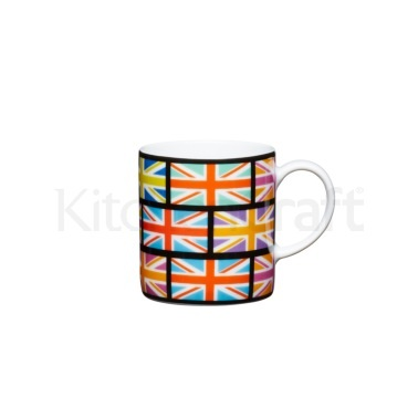 Kitchen Craft 80ml Porcelain Union Flag Espresso Cup