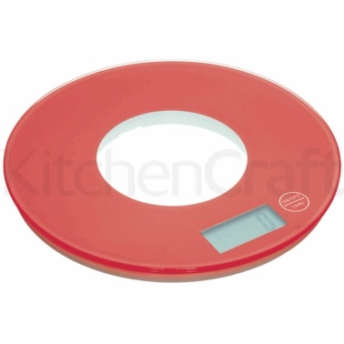 Colourworks Red Electronic Kitchen Scales