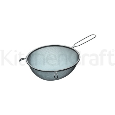 Kitchen Craft Stainless Steel 20cm Round Sieve
