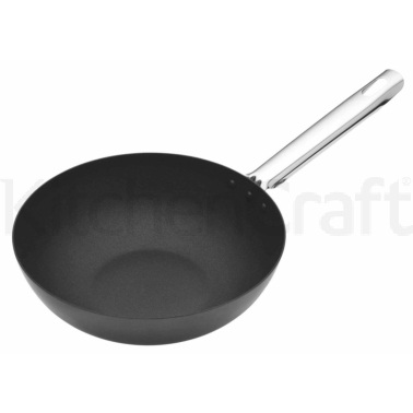 Master Class Professional Carbon Steel 24cm Wok