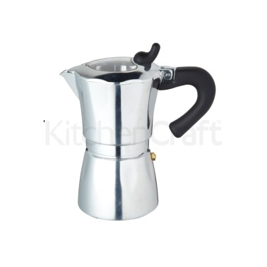 KitchenCraft Italian 6 Cup Espresso Coffee Maker