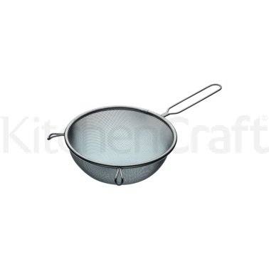Kitchen Craft Stainless Steel 18cm Round Sieve