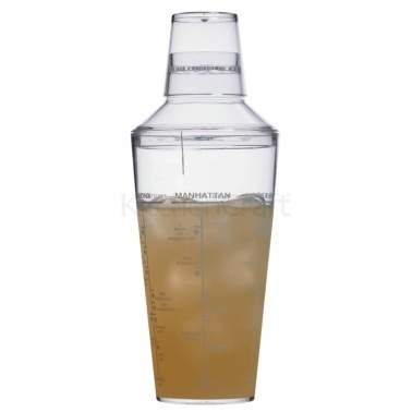 Bar Craft Acrylic 700ml Cocktail Shaker