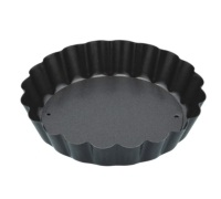 KitchenCraft Non-Stick Loose Base Mini Fluted Tart Pan
