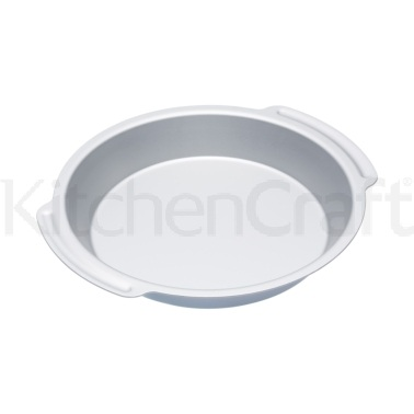 MasterClass Silver Anodised 23cm Deep Pie Pan