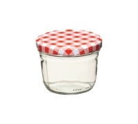Home Made 230ml Preserving Jar with Screw Top Lid