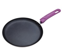 Colourworks Purple Crêpe Pan with Soft Grip Handle