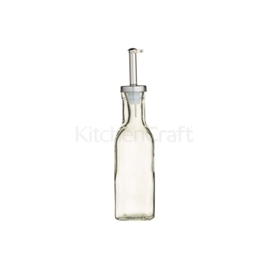 KitchenCraft World of Flavours Italian Small Glass Oil Drizzler