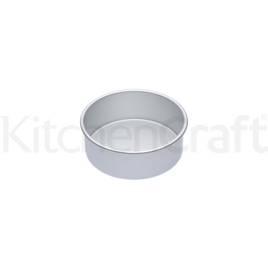 Master Class Silver Anodised 20cm Deep Cake Pan