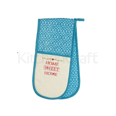 KitchenCraft Home Sweet Home Double Oven Glove