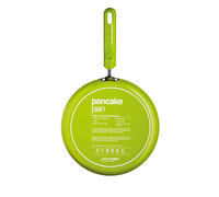 Colourworks Green Crêpe Pan with Soft Grip Handle