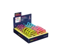 Colourworks Display of 16 Novelty Silicone Egg Rings