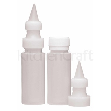 Sweetly Does It Set of 2 Icing Bottles