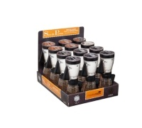 MasterClass Display of 12 Single Hand Salt & Pepper Mills