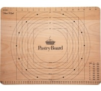 Home Made Wooden Pastry Board with Measures