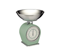 Living Nostalgia Mechanical Kitchen Scales - English Sage Green