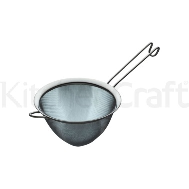 Kitchen Craft Stainless Steel 18cm Fine Mesh Conical Sieve