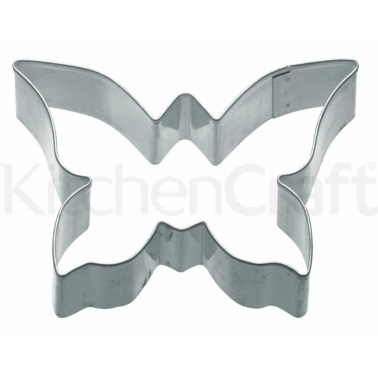 Kitchen Craft 7.5cm Butterfly Shaped Metal Cookie Cutter