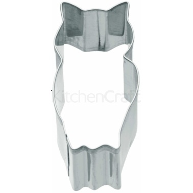 KitchenCraft 7cm Owl Shaped Metal Cookie Cutter