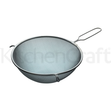 Kitchen Craft Tinned 24cm Round Sieve