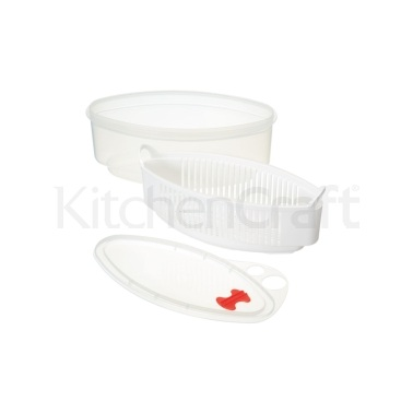 Kitchen Craft Microwave Pasta Steamer