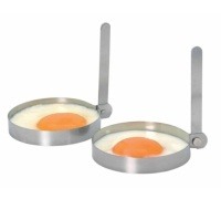 Kitchen Craft Set of 2 Stainless Steel Round Egg Rings